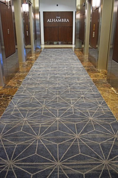 Custom Commercial Office Rug In Miami Office