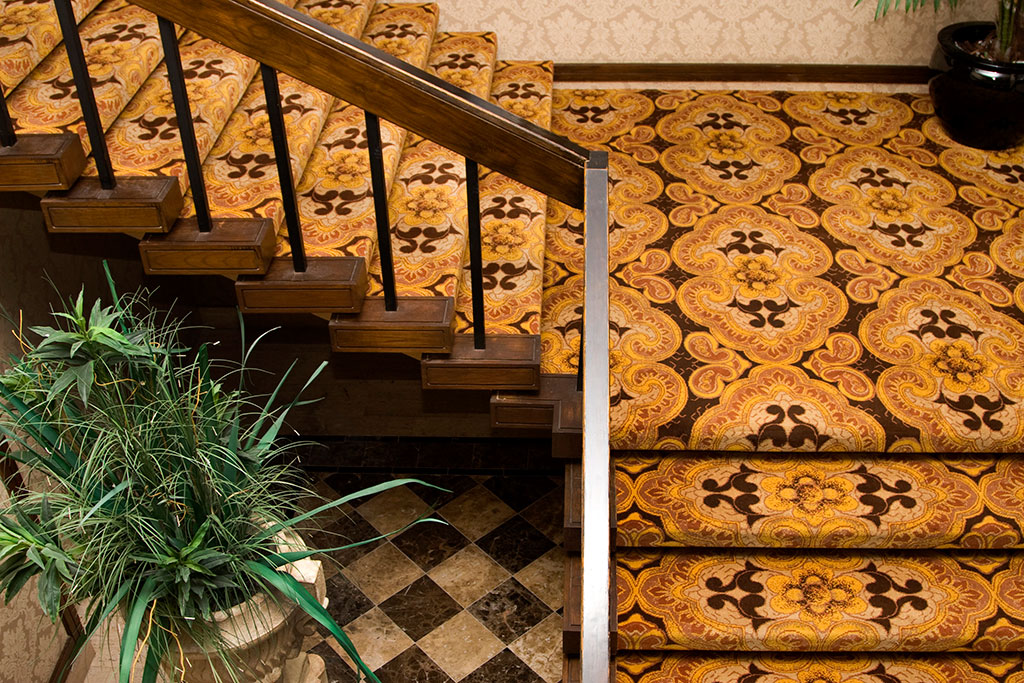 Bal Moral Hotel Staircase Carpet | East Coast Flooring