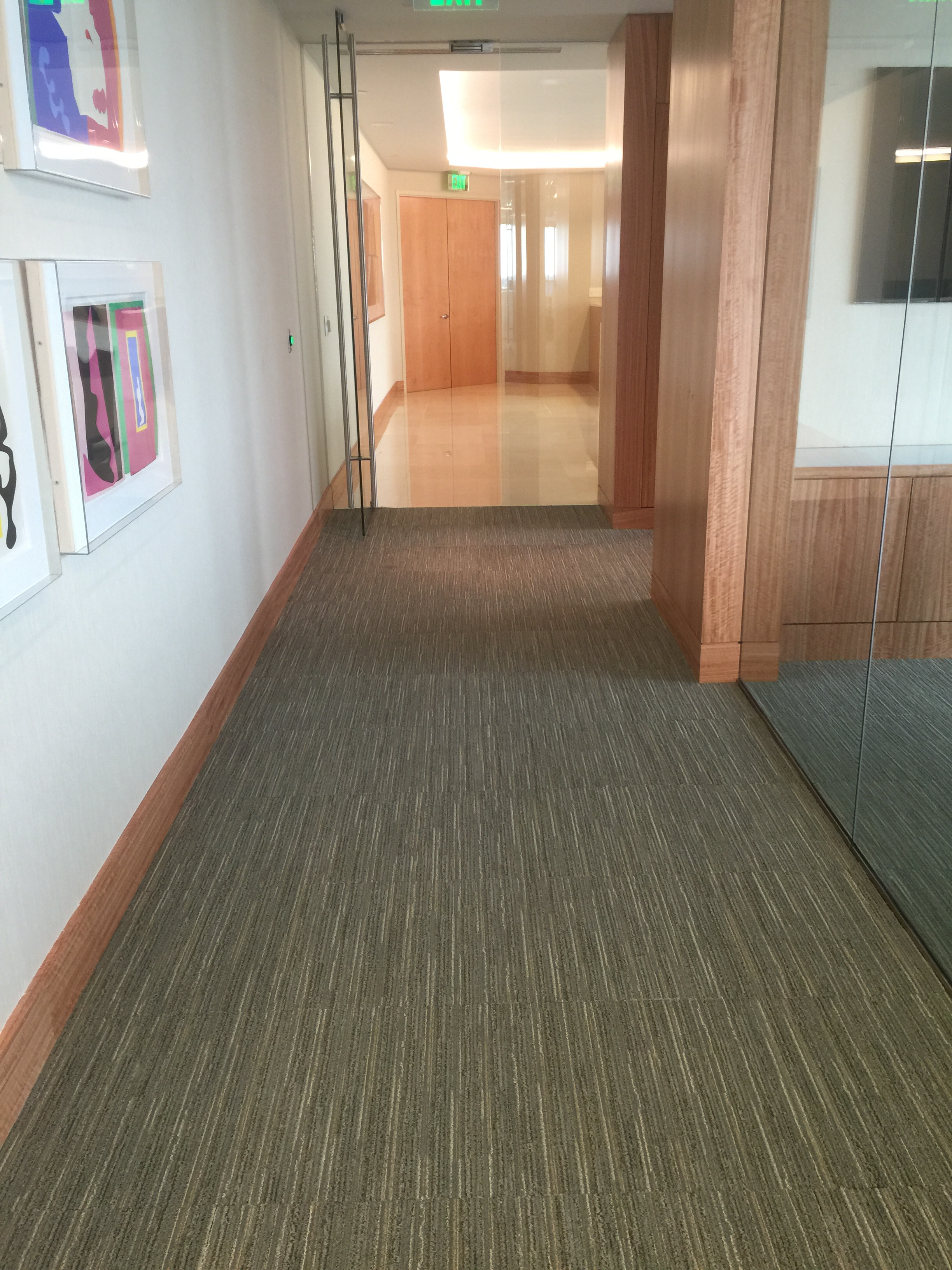 Carpet Installed at South Florida Corporate Office | East Coast Flooring