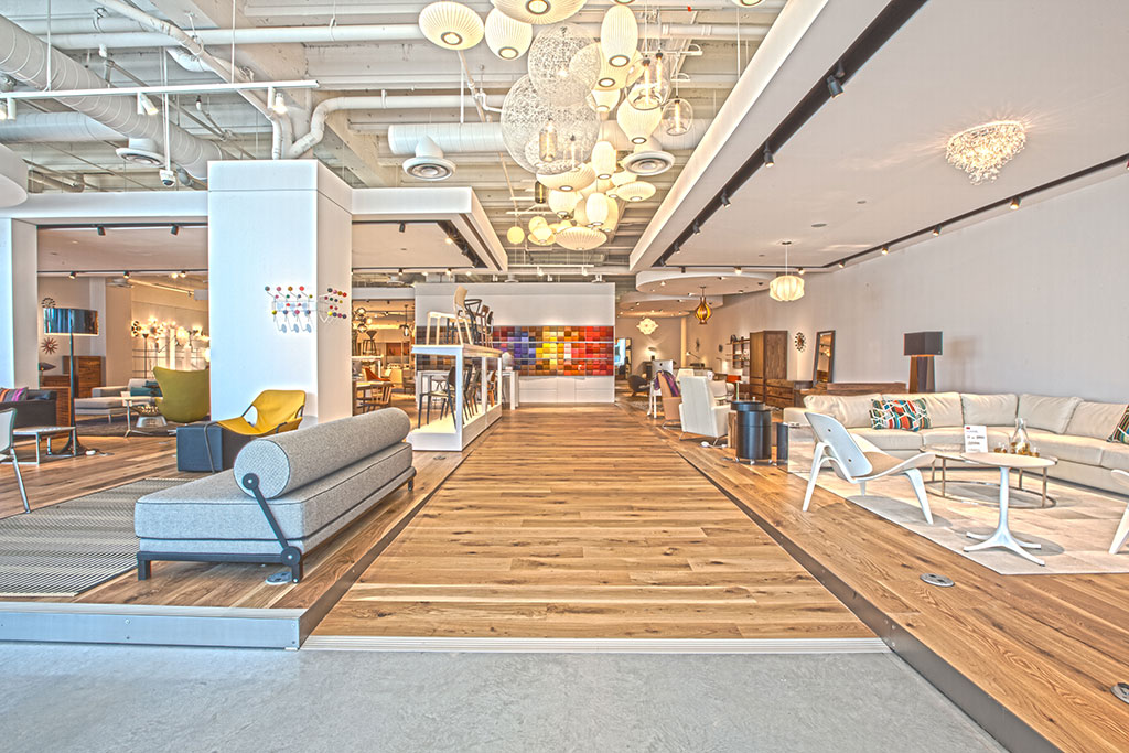 Retail Floor Installation Project In Miami
