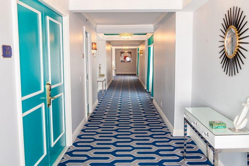 Axminster Carpet Installed at EAU Palm Beach