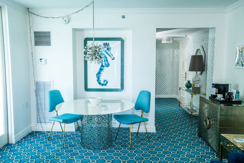 Hotel Carpet Installation | EAU Hotel in Palm Beach