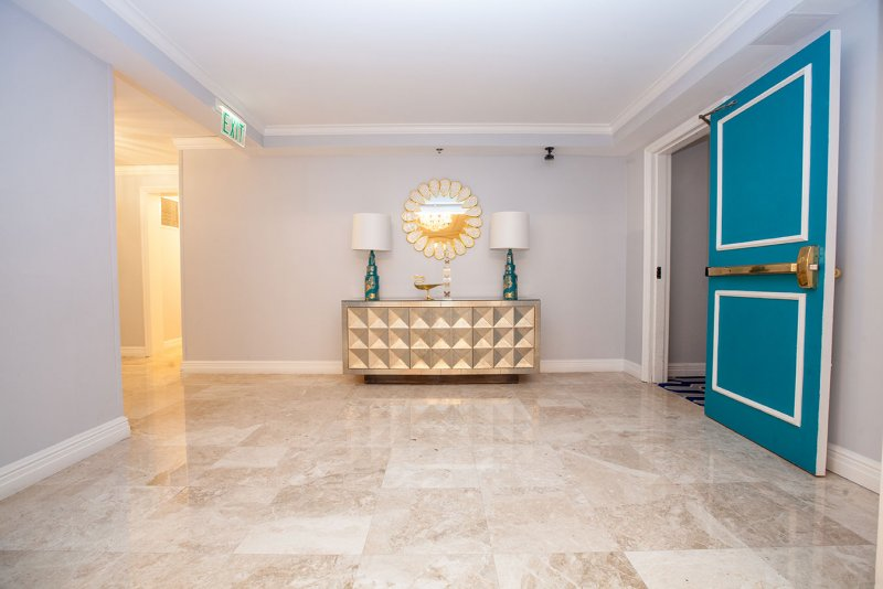 EAU Hotel Marble Flooring Installation by East Coast | Ft. Lauderdale FL