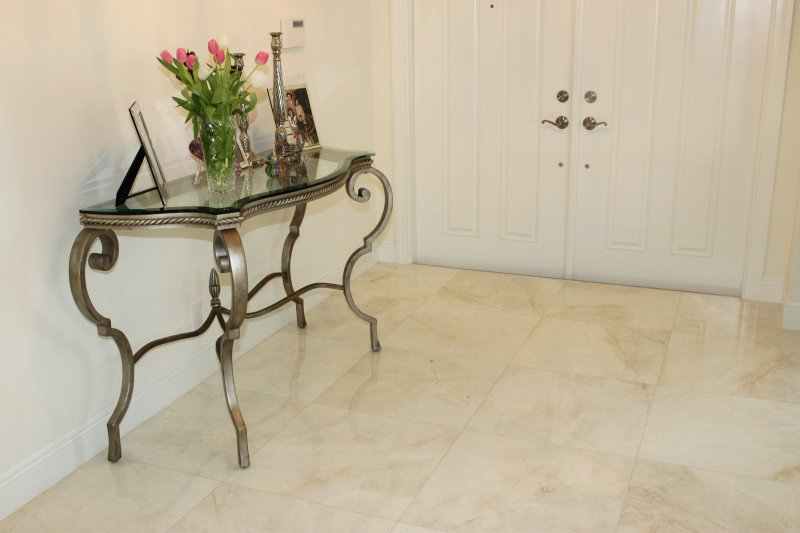 Marble Flooring Installation | Heron Bay Residence in South Florida