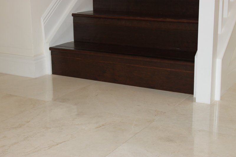 Wood Staircase Installation | East Coast Flooring and Interiors