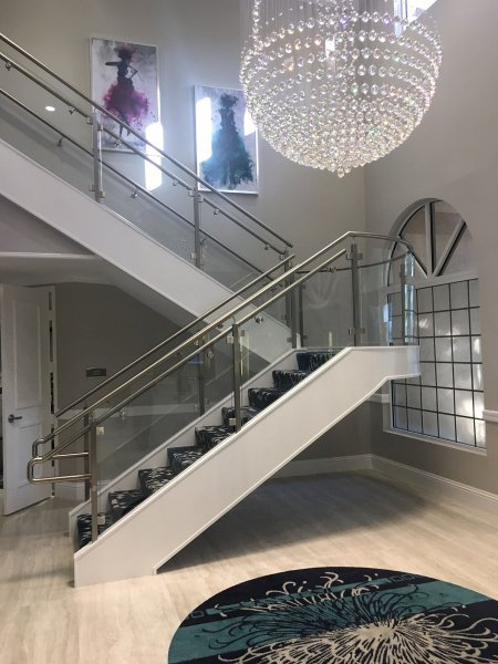 Platina Clubhouse Staircase Flooring