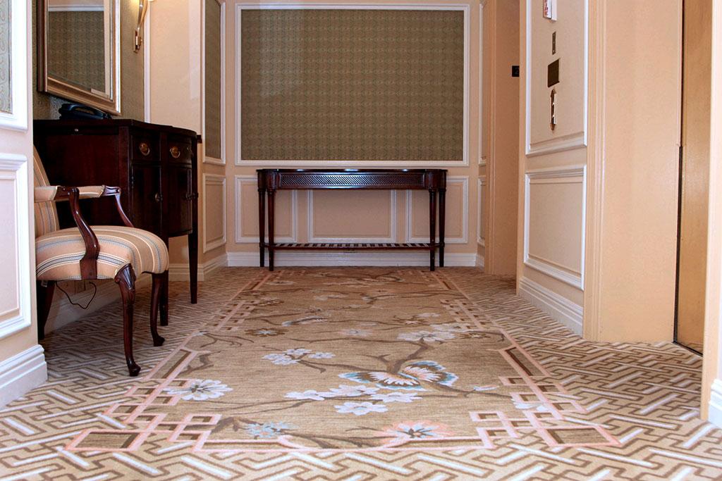Carpet Installation at the Ritz Carlton | East Coast Flooring
