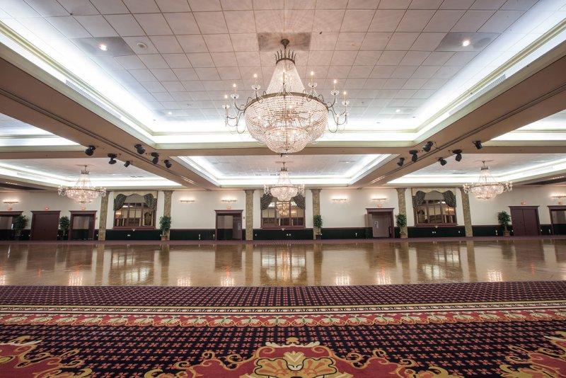 Signature Grand Ballroom Carpet Installation | East Coast Flooring