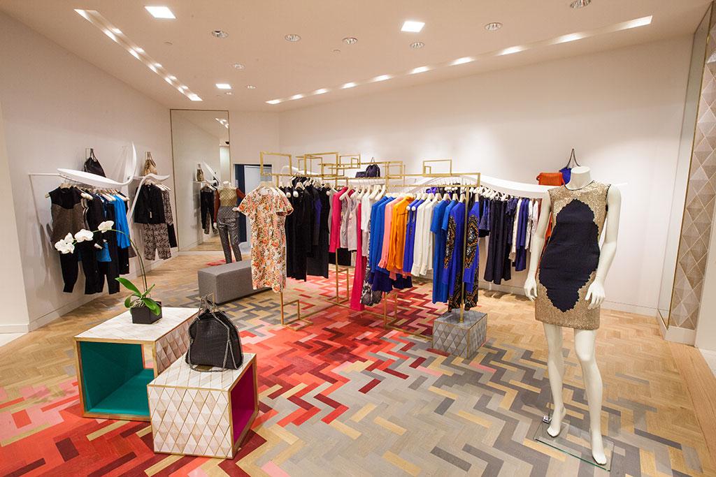 Retail Flooring Installation at Stella McCartney | South FL