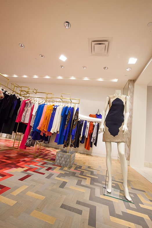 Custom Flooring Installed at Stella McCartney in South FL | East Coast Flooring and Interiors