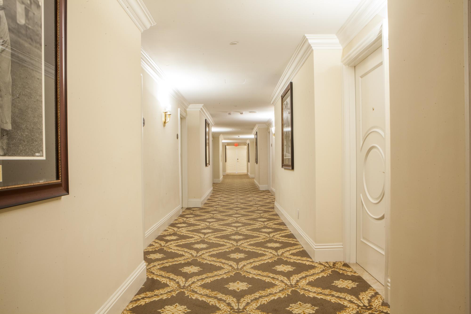 Custom Carpet Installation at Trump Resort in Doral, FL