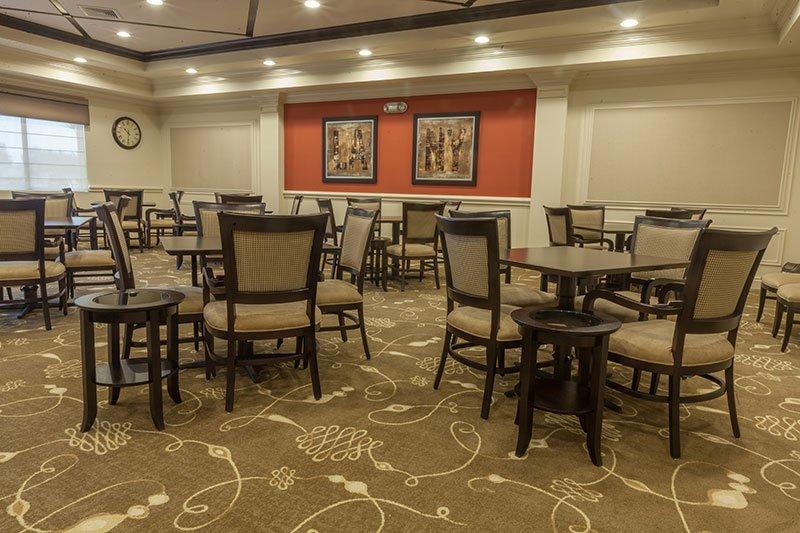 Custom Carpet Installation Valencia Shores Clubhouse in South Florida