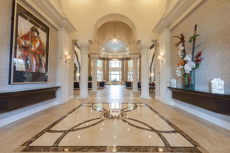 Porcelain Tiles Installation at Valencia Shores Clubhouse | Lake Worth FL