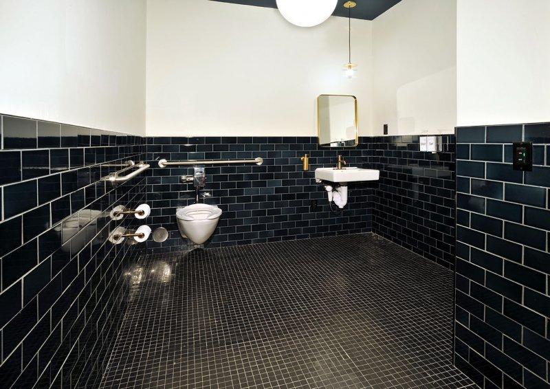 WeWork BCC Brickell Bathroom Flooring