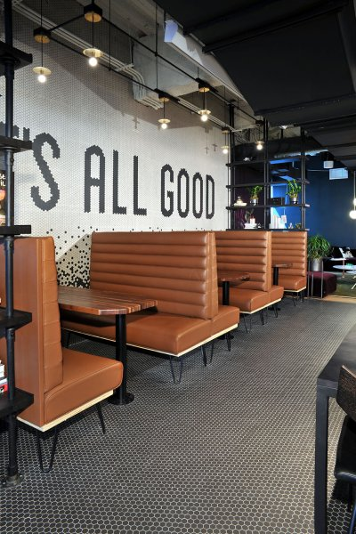 WeWork BCC Brickell Eating Area Flooring