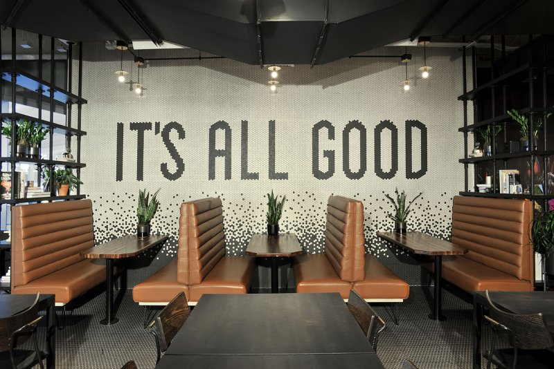 WeWork Eating Area Flooring Options
