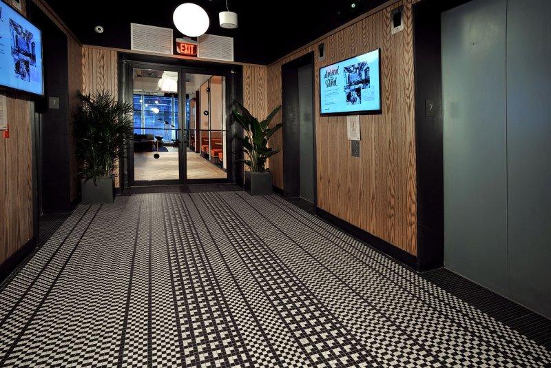 WeWork BCC Brickell Hallway Flooring