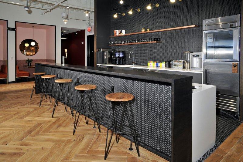 WeWork BCC Brickell Kitchen Flooring