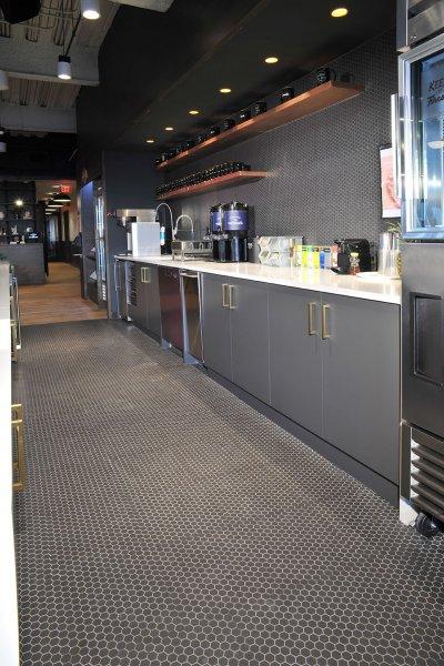 WeWork BCC Brickell Kitchen New Flooring