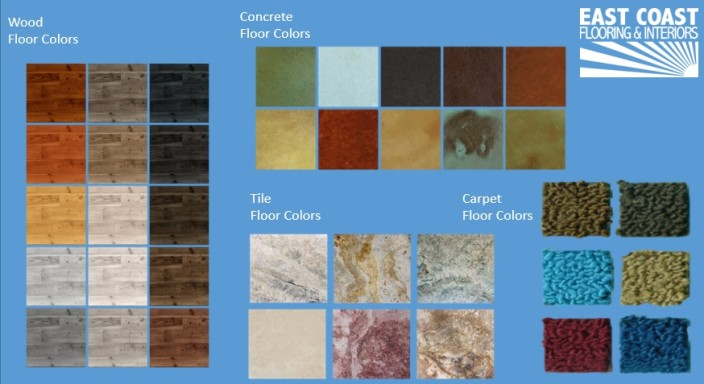 Floor Color Options | East Coast Flooring and Interiors