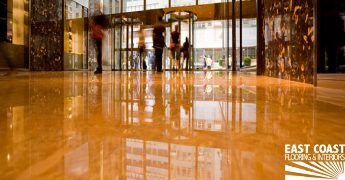 Commercial flooring installation in south Florida | East Coast Flooring & Interiors